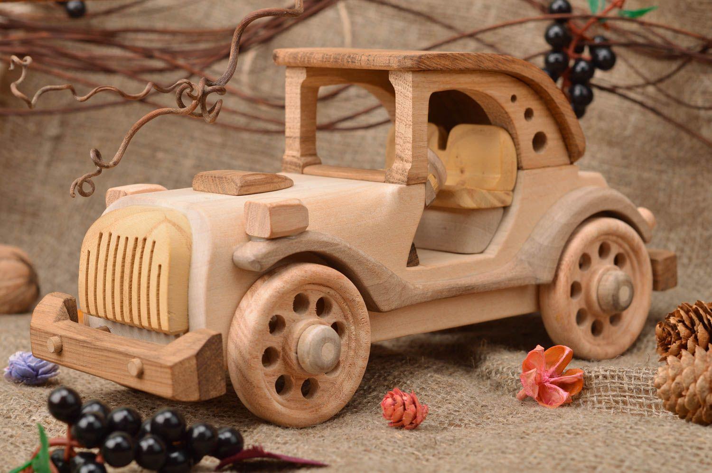 Деревянные игрушки автомобили своими руками